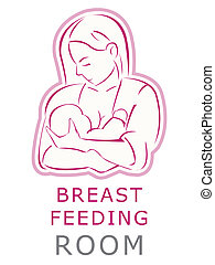 breastfeeding, salle