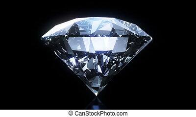 briller, rotation, diamant