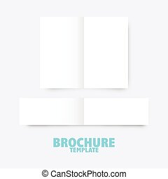 brochure, business, gabarit