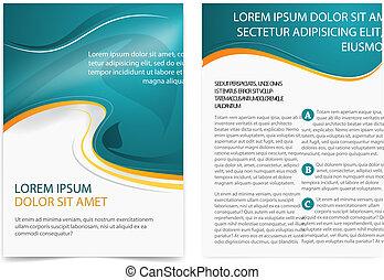 brochure, page