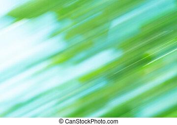 brouiller mouvement, fond, résumé, vert