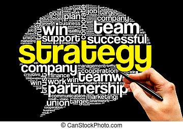 bulle, penser, stratégie
