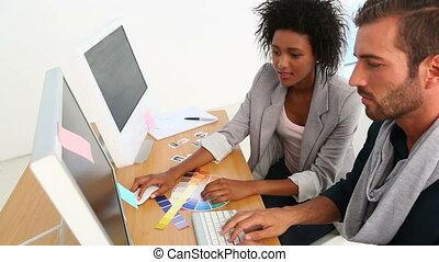 bureau, fonctionnement, conception, équipe