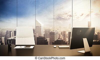 bureau, gestion