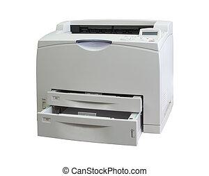 bureau, imprimante