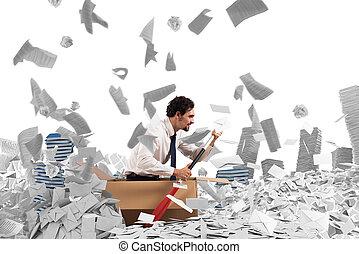 bureaucratie, naviguer
