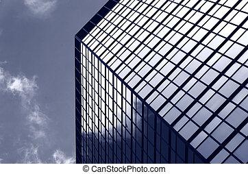 bureaux, gratte-ciel