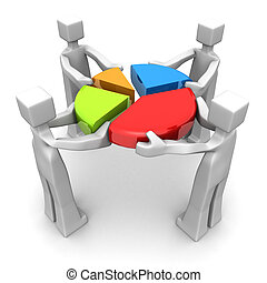 business, collaboration, accomplissement, performance, concept