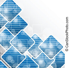 business, conception abstraite, fond, vide, carrés, carte