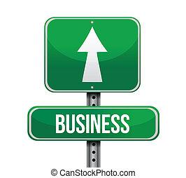 business, conception, route, illustration, signe