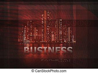 business, fond