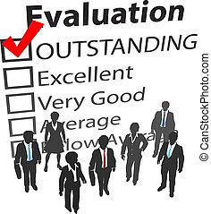 business, mieux, humain, équipe, évaluation, ressources
