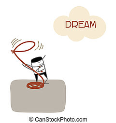 business, reussite, avenir, prise, rêve, vision, homme