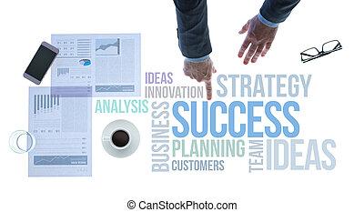 business, reussite, concepts