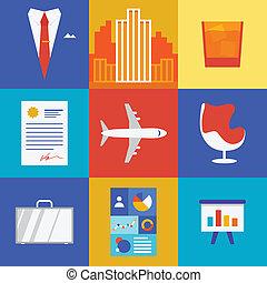 business, richesse, illustration
