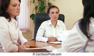business, travailler ensemble, femmes