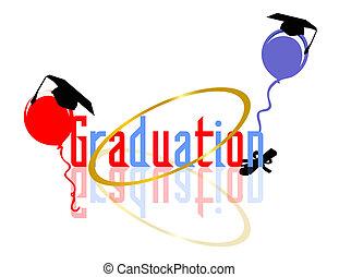 célébrer, remise de diplomes