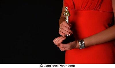 cérémonie, -, récompenses, hd