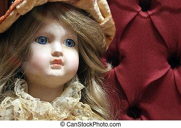céramique, poupée