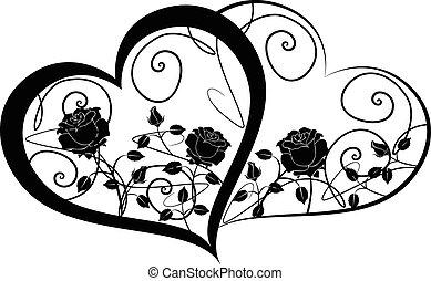 cœurs, 2, deux