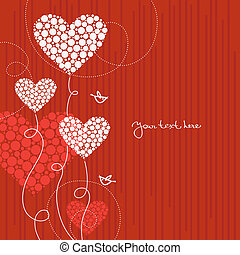 cœurs, amour, fond, résumé