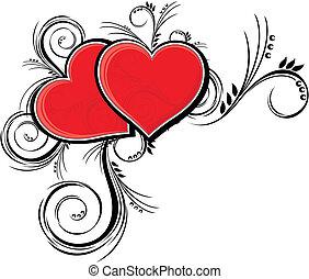 cœurs, beauté