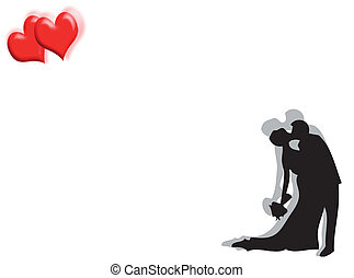 cœurs, mariage