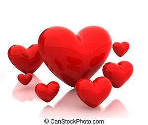 cœurs, peu