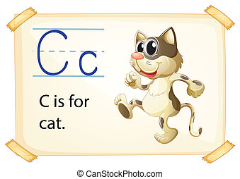 c, lettre