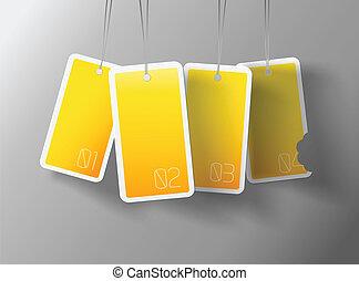 c, propre, texte, pendre, jaune, quatre, endroit, boîte, chaque, vous, ton, cartes.