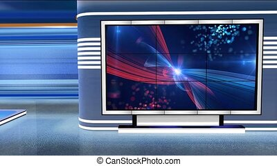 c2, virtuel, newsroom, studio