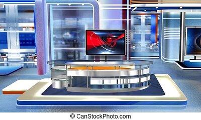 c3, virtuel, newsroom, studio