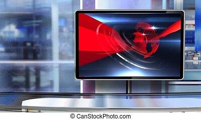 c5, virtuel, newsroom, studio