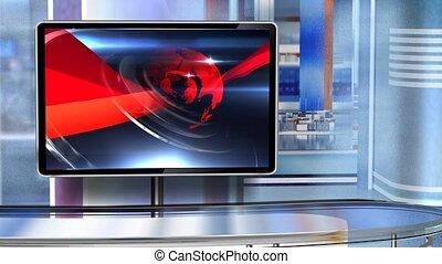 c6, virtuel, newsroom, studio