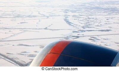 cabin., avion