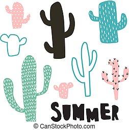 cactus, ensemble