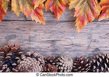 cadre, automne