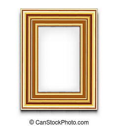 cadre graphique, vecteur, ou, photo