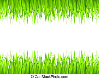 cadre, herbe