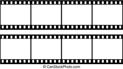 cadre, photographique, (seamles, pellicule