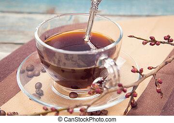 café, branche