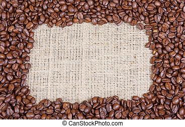 café, cadre