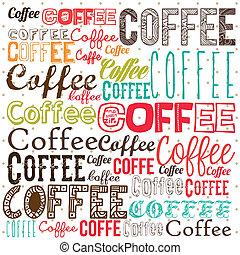 café, illustration