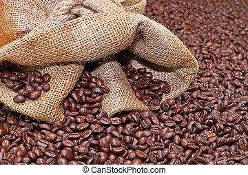 café, sac