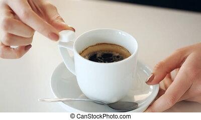 café, sucre