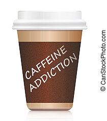 caféine, addiction.