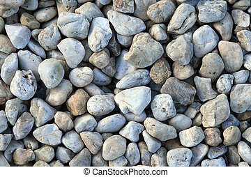 caillou, fond, rochers