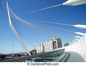 calatrava, jérusalem, 2010, pont