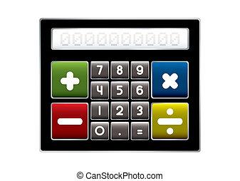 calculatrice, moderne