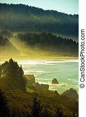californie, côte pacifique
